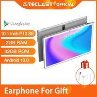 Tablet PC Est Android 10.0 Phone Call Tablets Teclast P10SE 10.1 Inch 2GB RAM 32GB ROM BDSG GPS Navigation Quad Core Wifi1