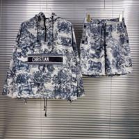 EU 크기 남성 스웨터 정장 후드 캐주얼 패션 컬러 스트라이프 인쇄 아시아 크기 고품질 야생 통기성 긴 소매 티셔츠 I11