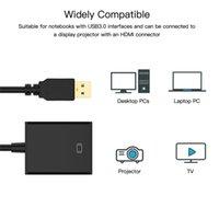 1080 P USB 3.0 HDMI Kadın Ses Video Adaptörü Dönüştürücü Kablosu için Windows 7/8/10 PC Grafik Adaptörü Ekran Dizüstü HDTV Oyun Oyuncu