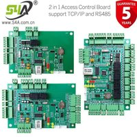 지문 액세스 제어 2 in 1 보드 호환 RS485 및 TCP / IP 네트워크 컨트롤러 패널 1