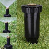 Arrosage Equipements 1pc Misting Sprinkler Jardin Micro pelouse Eau à effet de serre Eau pulvérisée réglable Buse Rotary Irrigation Outil atomisé1