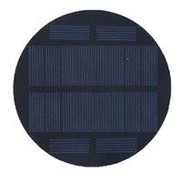 태양 에폭시 패널 다결정 실리콘 고품질 태양열 충전기 다결정 태양 전지 패널 광전지 95 mm