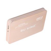 BUKING portátil TB 2,5 \ '\' SATA SSD USB 3.0 externo Caja para disco duro 2