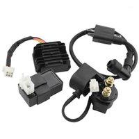 점화 코일 4PCS ATV 150CC 200cc 250cc1 용 고전압 밸러스트 릴레이 키트