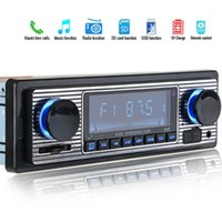 Vintage Auto Bluetooth FM Radio MP3-Player Stereo USB AUX Oldtimer Auto Stereo Audio OLED Color Screen Electronic1