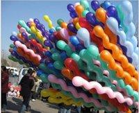 Spiratura addensata a vite a spirale a spirale a palloncino decorazione del partito bar KTV Forniture giocattolo Palloncini Thanksgiving Christmas Eve