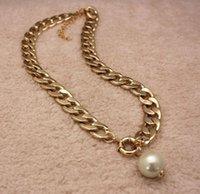 문 목걸이 목걸이 초커 클래식 결혼 선물 모조 진주 목걸이 황금 목걸이 진주 펜던트