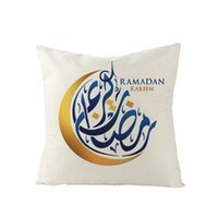 2020 Ramadan Fronha Almofada de Almofada Muslim Capa de Impressão Caso Home Sofá Decoração Multi Estilo 4 5JZA H1