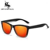 النظارات الشمسية Jifanpaul الاستقطاب نظارات الشمس الرجال نظارات uv400 الصيد نظارات معدنية القيادة ساحة نمط