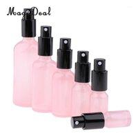 Kesoto 2 stücke Leere Glaspumpe Spray Flasche Für Duft Toner Bernstein Zerstäuber Flüssig Kosmetik Pink1