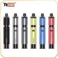 Yocan Hit Starter Kit Buharlaştırıcı Kuru Herb Balmumu Buharlaştırıcı Kiti 1400 mAh Pil Seramik Fırın Isıtma Vape Pen DHL