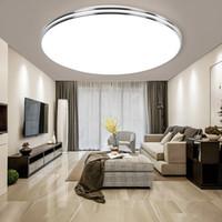 LED panneau lampe LED Ajuster couleur Plafonnier 72W 36W 24W 18W 12W lumière vers le bas Surface montée 220V lampe moderne pour la maison d'éclairage