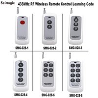 عن بعد للتحكم 433 ميجا هرتز 1ch 2ch 3ch 4ch 6ch 8ch 8ch التحكم اللاسلكي الارسال 1 2 3 4 6 8 أزرار التعلم رمز