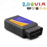 OBD2 ELM 327 V1.5 Scanner Bluetooth ELM327 Lettore di codice OBD per Android / IOS OBD 2 Adapter Auto Diagnostica