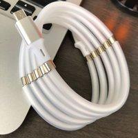 Yeni Gelmesi Kendini Sargı Mikro USB Manyetik Emilim Sihirli Hızlı Şarj Veri Kablosu Dayanıklı Şarj Kablosu