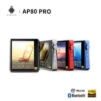 Hidizs AP80 PRO المزدوج ESS921 MP3 بلوتوث مشغل موسيقى مع شاشة تعمل باللمس هاي فاي المحمولة FLAC LDAC USB DAC DSD 64/128 راديو FM MP3