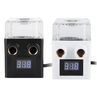 Fans & Coolings Computer Integrated Water Tank Pump Ceramic Bearing 200L H Flow Three-phase PC Temperature Display Cooling Pump1