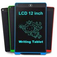 LCD 작성 태블릿 12 인치 그리기 태블릿 디지털 그래픽 태블릿 전자 드로잉 보드 지우기 필기 패드 라이트 패드