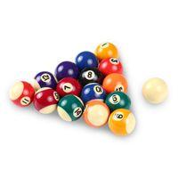 Бильярдные шары 25 мм / 32 мм 38 мм Детские бильярдные настольные набор полиэфирной смолы небольшой бассейн Cue полный подарок для детей