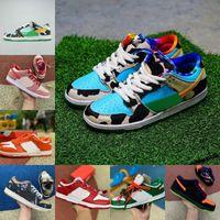 Tıknaz Dunk Turuncu Sarı Düşük Erkek Spor Ayakkabı Safari Syracuse Yaramazlık Strangelove Platformu Sb Kadınlar Kaykay Sneakers