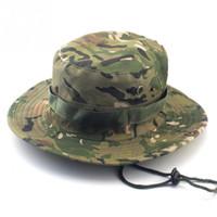 أمريكا التكتيكية دلو القبعات Boonie قناص التمويه النيبالية الجيش كاب زينة الرجال
