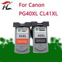 Cartucce d'inchiostro PG40 CL41 Cartuccia per Canon PG 40 cl 41 PG-40 40XL 41XL PIXMA IP1800 IP1200 IP1900 IP1600 MX300 MX310 MP160 MP140 Stampante