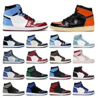 2021 Nova Chegada Jumpman High OG 1 1S Dio Chicago UNC Tie-tinge Mens Basquetebol Sapatos 11 11s Concord Criado Mulheres Sneakers Treinadores Tamanho 13