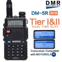 2020 BAOFENG DM-5R PLUS TIERI TIERII Digital Walkie Talkie Radio a due vie VHF / UHF Dual Band Radio Aggiornato da DM5R Tier21