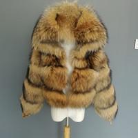 FURTJY Luxury Real Женщина Серебро Золото Fox Шуба с меховым капюшоном курткой Мода женщина зимы толстая теплой из натурального меха OuterwearX1018