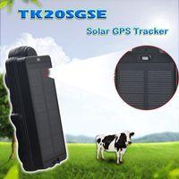 Car GPS الملحقات 3G WCDMA GSM GPRS تعقب المركبات TK20SGSE تحديد موقع لوحة للطاقة الشمسية المدمجة في الوقت الحقيقي تتبع Trakcer 20000MAH
