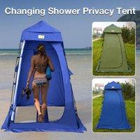 En plein air Invidentialité Tente Changement de pluie et croix solaire Chambre Toilette Mobile Toilettes Pêche auvent pour la plage d'extérieur Camping Travel1