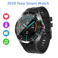 thermometer smart watchs Heart Rate fitness tracker Blood Pressure IP68 water proof gps Sports bluetooth pk DZ09 android smart watch