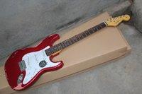 Kostenloser Versand Top Qualität Robert Cray Stratocaster Silber E-Gitarre SSS Pickups Gewohnheitskörper
