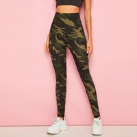 Push-Up-Leggings Damenmode Camouflage Druck Fitness Sport Legging reizvolle hohe Taille Legins Workout Anzugshose