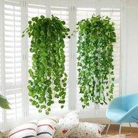 Decorative Flowers & Wreaths Simulation Ivy Vine Artificial Rattan DIY Plastic Fake Grass Plant Wedding Decoration Home Party El Decor #T1