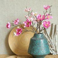 웨딩 파티 가든 홈 테이블 장식 1 인공 목련 꽃 시뮬레이션