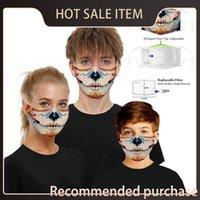 Spor Maskesi Toptan Maskeleri Kafatası Rüzgar Geçirmez Cosplay Cadılar Bayramı Açık Kullanımlık Toz Şenlikli Sıcak Pamuk FA Partisi M