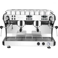 Kaffeemaschine Gewerbliche Maschine Italienische Halbautomatische Dampfdoppelausrüstung1