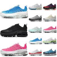 Nike Air VaporMax 360 جديد وصول 360 من الرجال والنساء الاحذية GRADIENT UPPER airmaxairmax الليزر قمة الزرقاء الرجال المدربين الرياضية حذاء العدائين