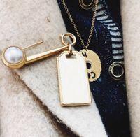 Marca de moda Tener sellos Diseñador Broches Broches para Lady Mujeres Partido Amantes de la boda Regalo Compromiso Joyería de lujo para novia con caja