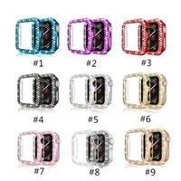 Casi Protector per Apple Osservare Accessori Gen 2 3 4 5 Diamond Galvanotecnica PC 9 colori Wearable Tecnologia