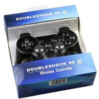 Perakende Kutu Dropshipping ile PS3 Titreşim Joystick Gamepad Oyun Kontrolörleri için DualShock 3 Kablosuz Bluetooth Denetleyici