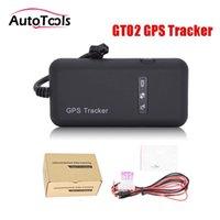 اكسسوارات GPS سيارة 10pcs / lot Mini Tracker في الوقت الحقيقي تتبع نظام GT02A GSM عبر الإنترنت الجهاز