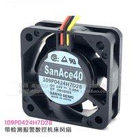 SanAce40 24V 0.08A 109P0424H7D28 40 millimetri ventilatore macchina CNC con ventola di raffreddamento allarme di rilevamento FANUC