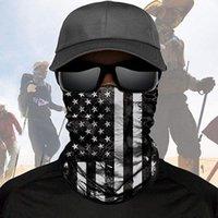 День флаг США DHL шарф банданы Independence шея Маска Магия Мотоцикл Велосипед Половина лицо Маски оголовье несколько велосипеды Рыбалка шарф Bandanas