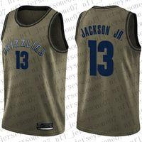 "Özel Erkek Bayan Memphis ""Grizzlies"" 13 Jaren ""Jackson # 24 Dillon Brooks Jr. Camo Basketball Swingman Realtree Collection Jersey"