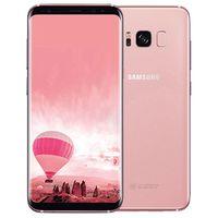 Orijinal Yenilenmiş Samsung Galaxy S8 G950F G950U 5.8 inç Octa Çekirdek 4 GB RAM 64 GB ROM 12MP 4G LTE Unlocked Akıllı Telefon DHL 10 adet