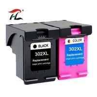 Cartucce d'inchiostro YLC 1Set 302XL Compatibile per 302 XL Deskjet 1110 1111 1112 2130 2131 2132 3630 Stampante