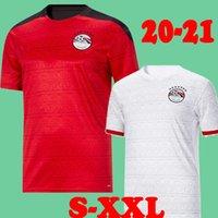 20 21 Egitto Home Soccer Jersey Thailandia Qualità 2020 Egitto # 10 M.salah Camicia da calcio Away A. Egazi Kahraba Ramadan M.Elneny Camicie da calcio