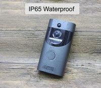 FreeShipping WIFI Дверной B30 IP65 водонепроницаемый смарт-видео двери перезвон камера FIR сигнализации ИК ночного видения IP-720P беспроводной интерком